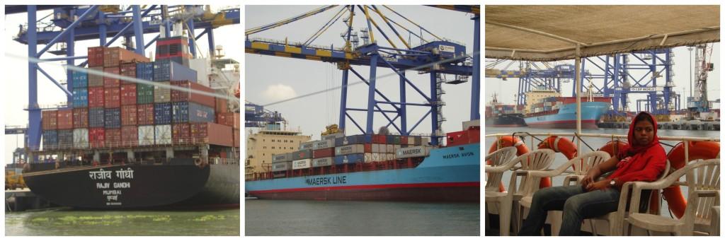 Kochi Port (Ignore my face)