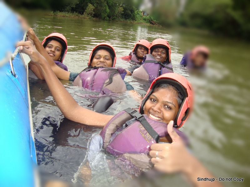 White Water Rafting-Coorg