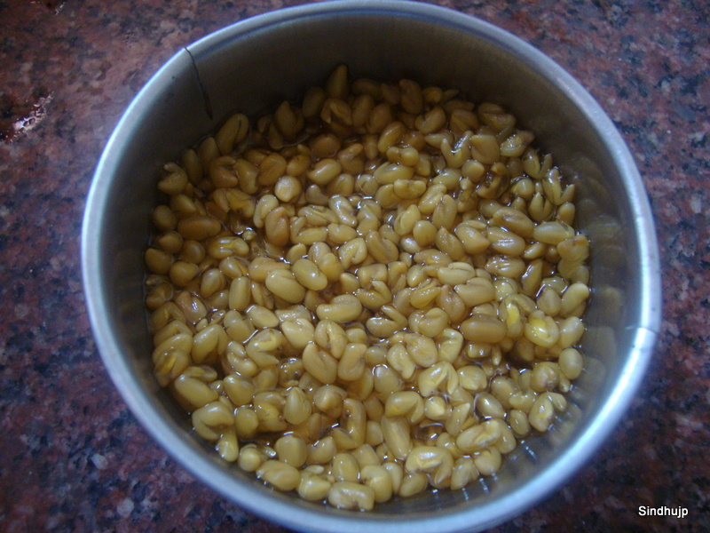 Methi Seeds - After soaking overnight
