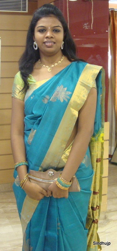 Traditional OOTD with Silk Saree