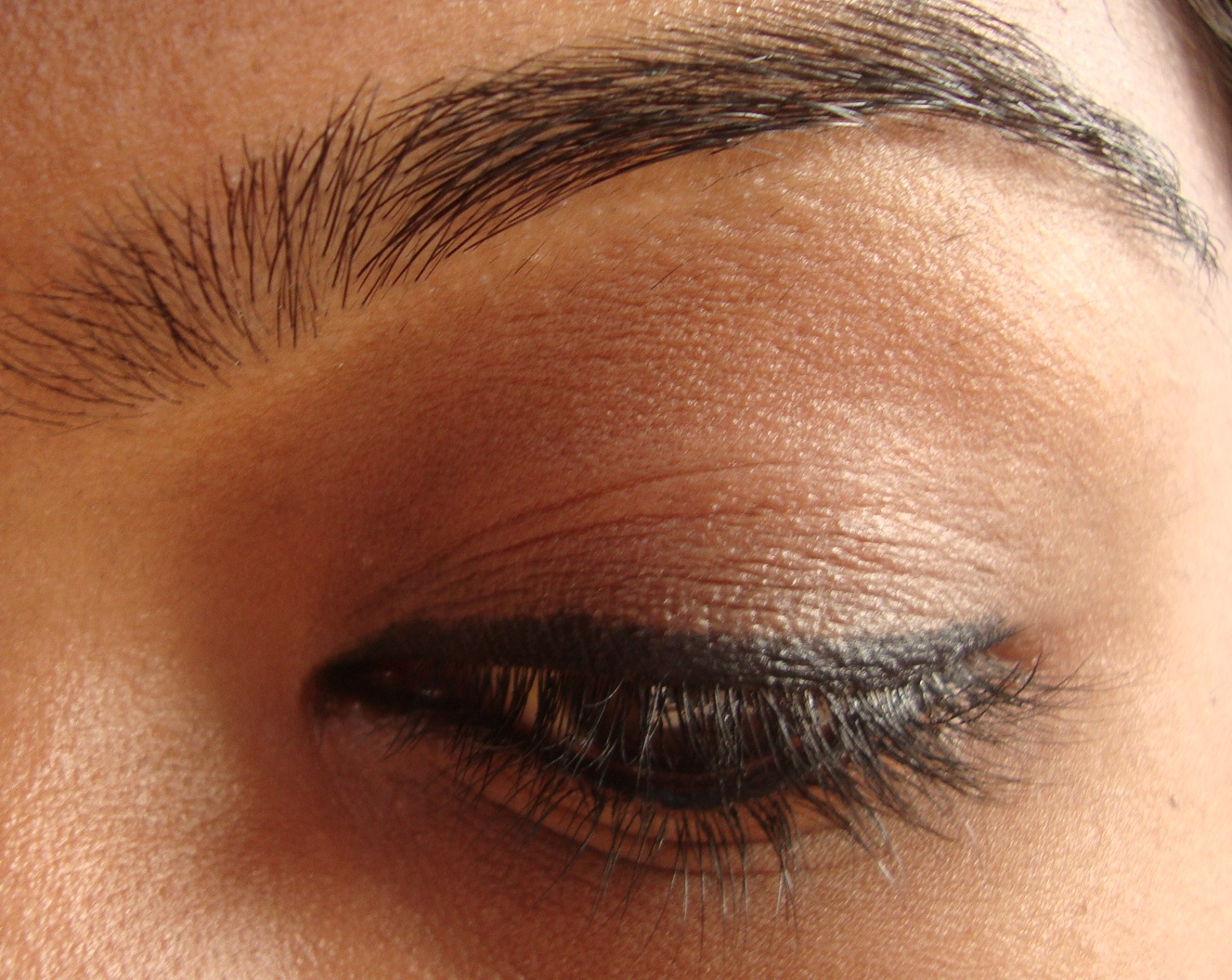 Faces Kohl - Solid Black on upper lash line