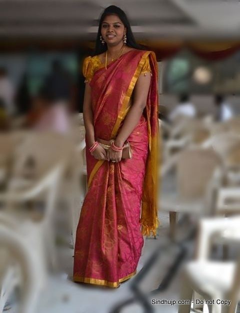 Tamil Wedding Silk Saree