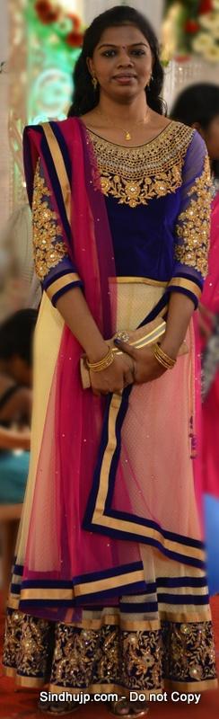 Tamil Wedding Lehenga