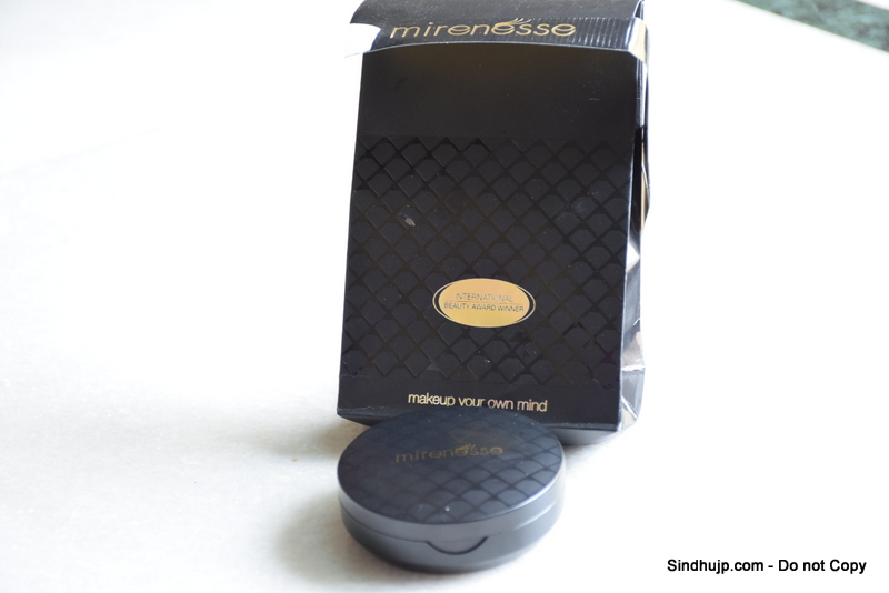 Mirenesse marble mineral blush in Rose diamond