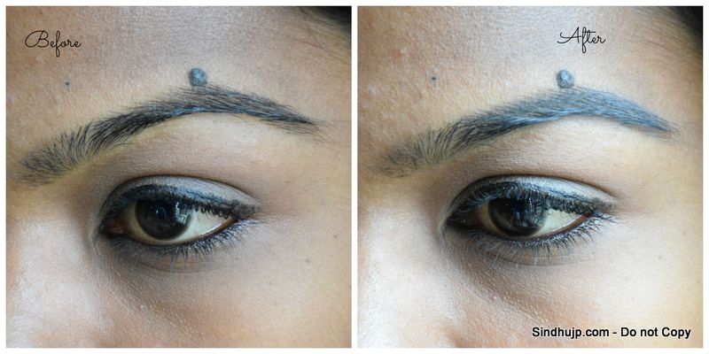 Maybelline Fashion Brow Duo Shaper in Gray Review Before and After