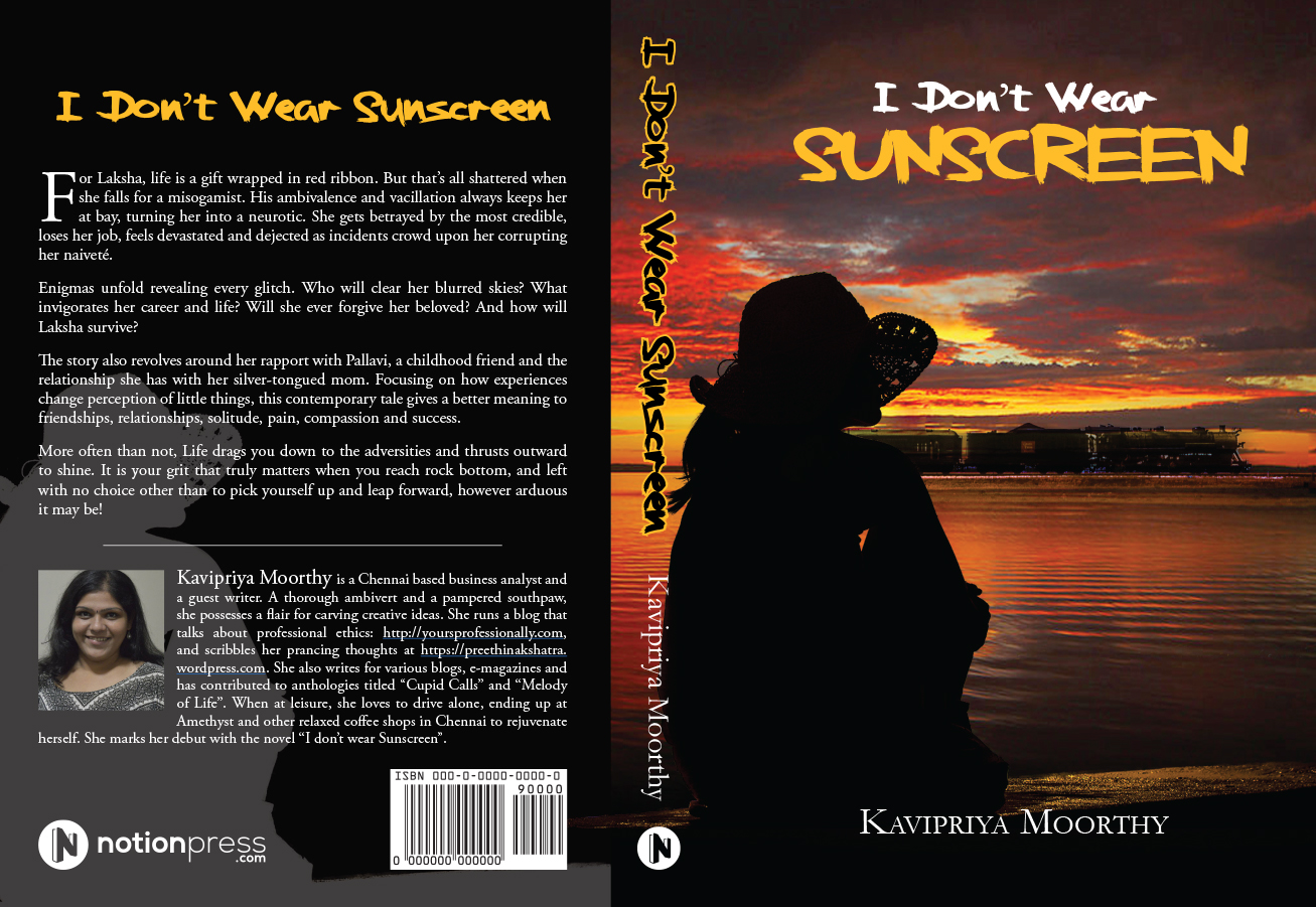 I Dont Wear Sunscreen_cover 1_rev7.indd