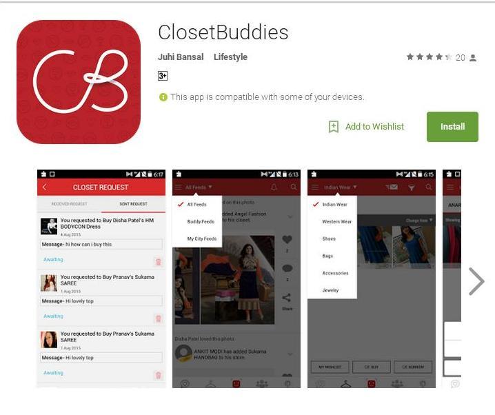 Closet Buddies
