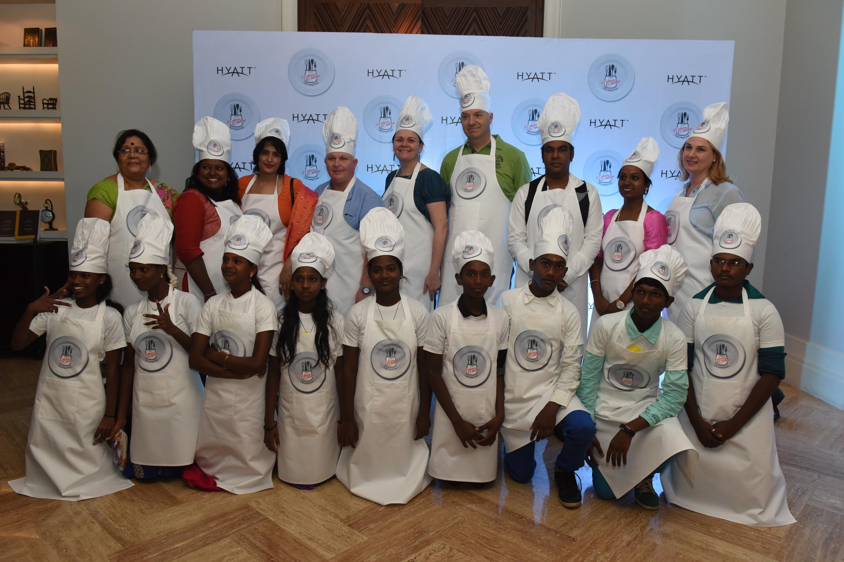 Hyatt Culinary Challenge 2015