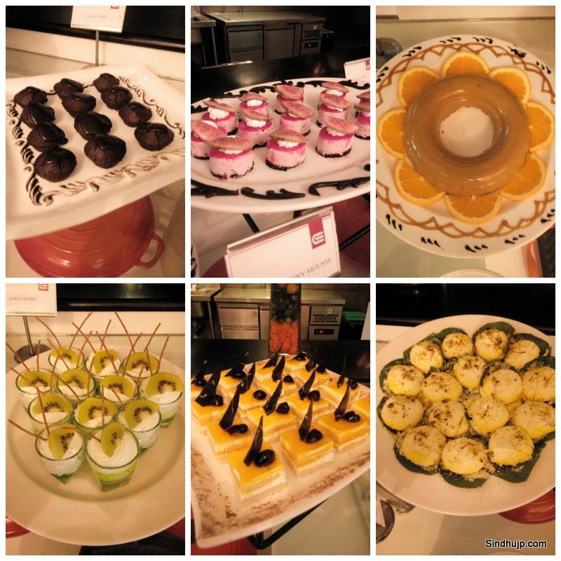 Entree Ehotel buffet
