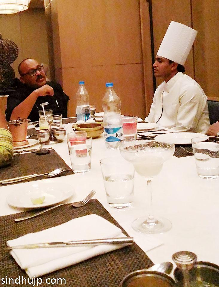 Chef Satveer Chef Yatendra Westin Velachery