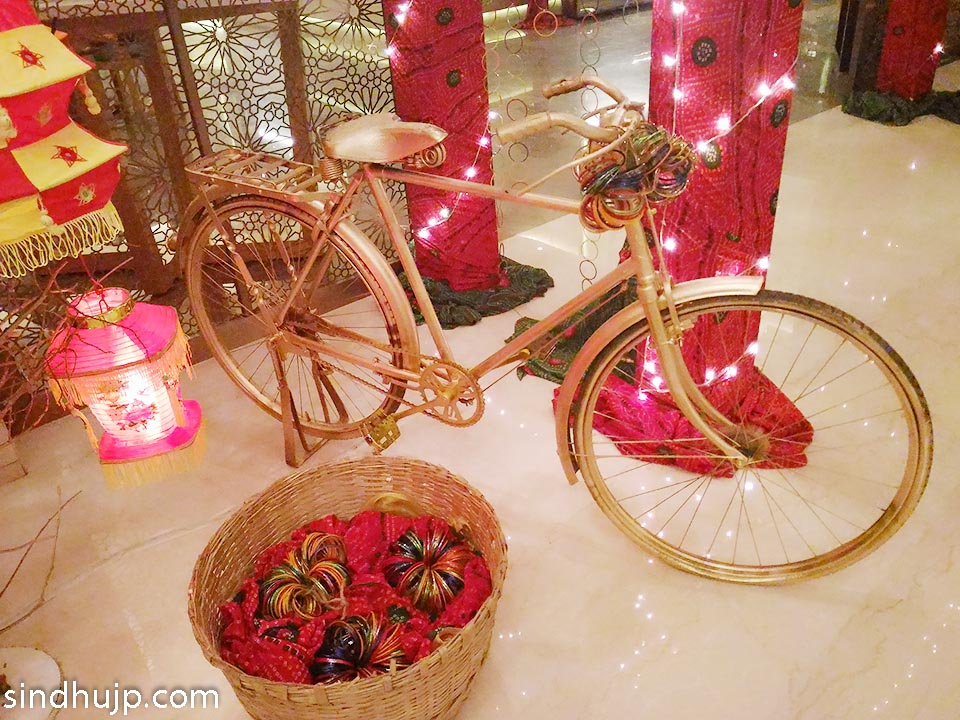 Decor for Rajasthani food festival westin velachery