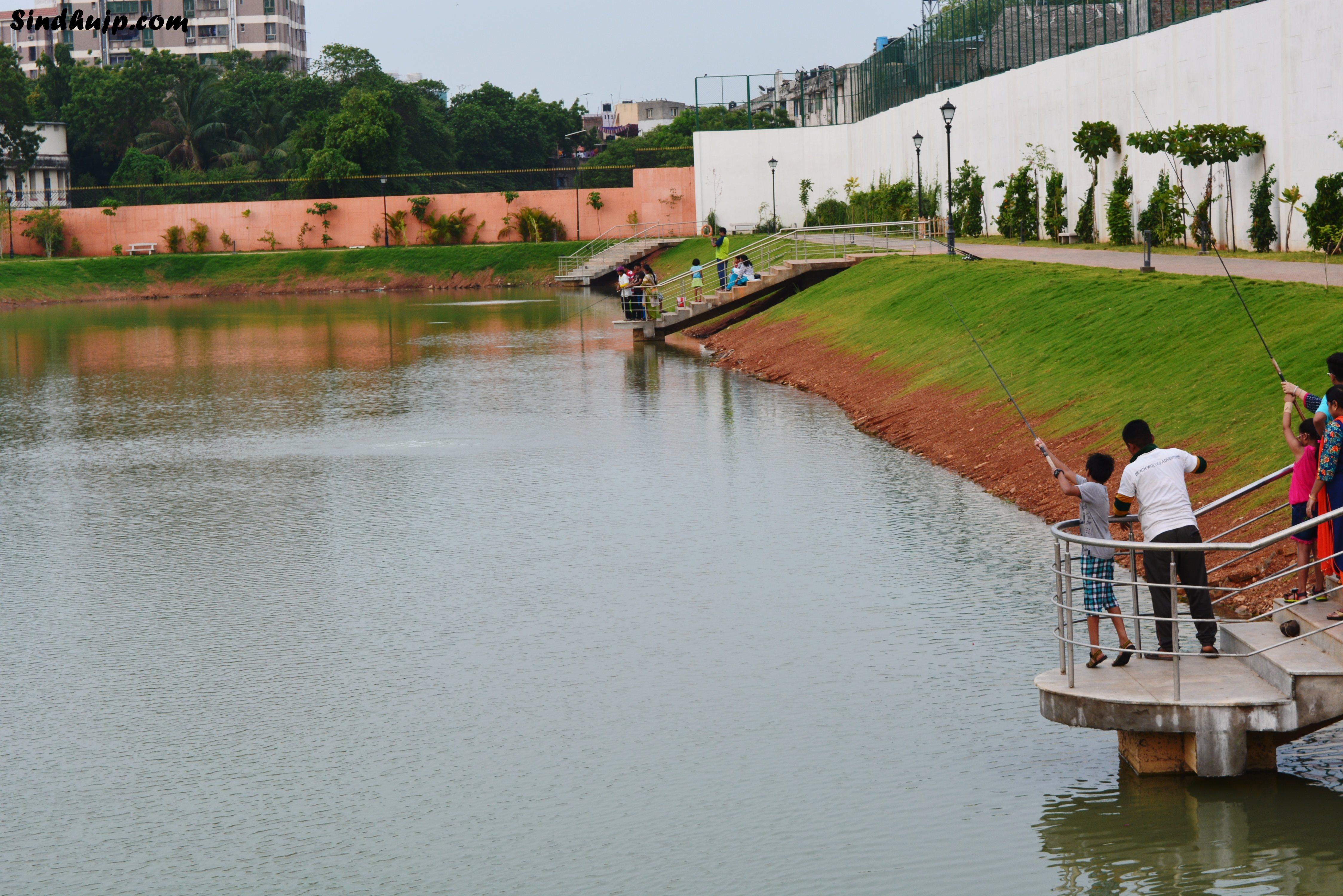 fishing in chetpet lake