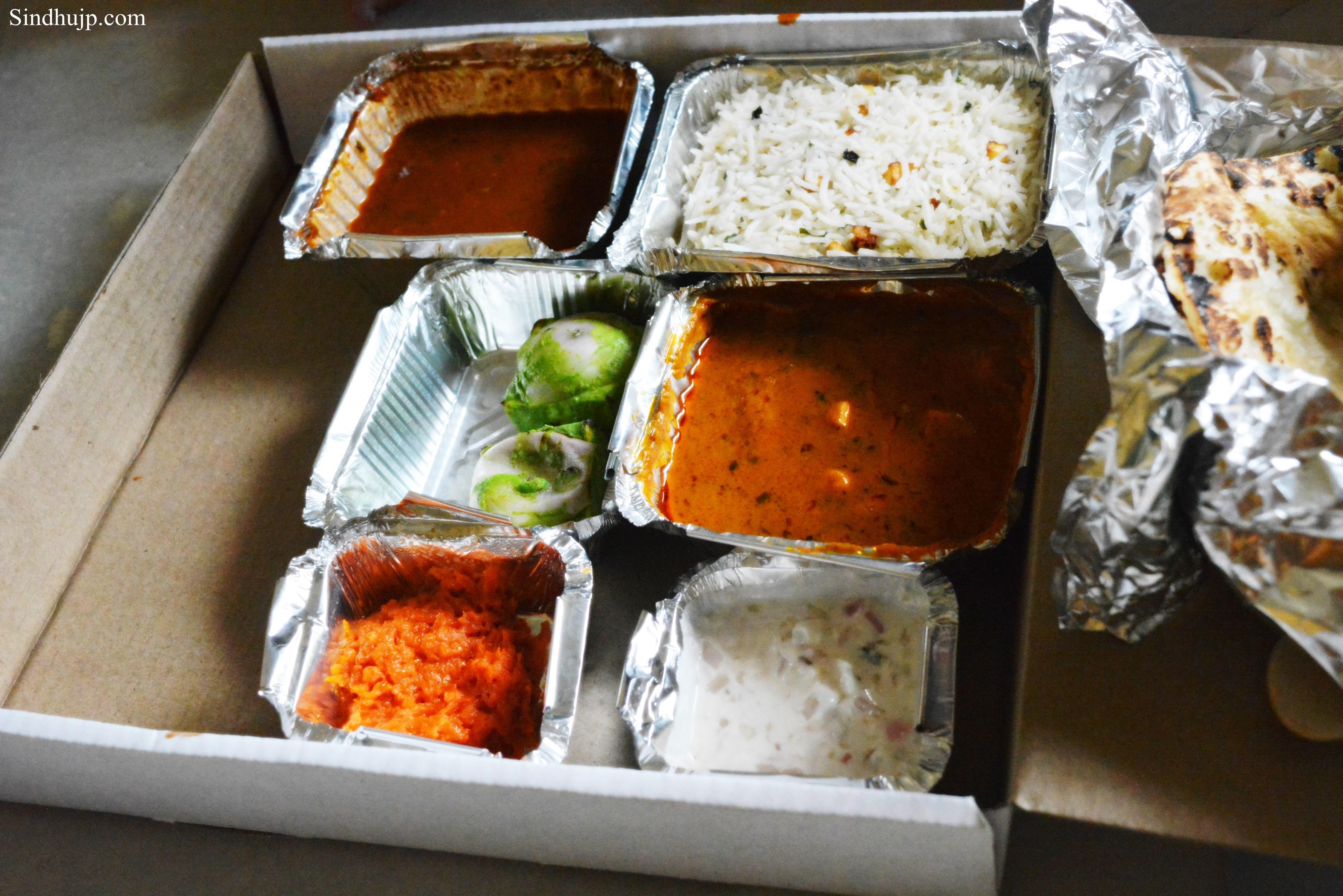 north indian vegetarian thali order online