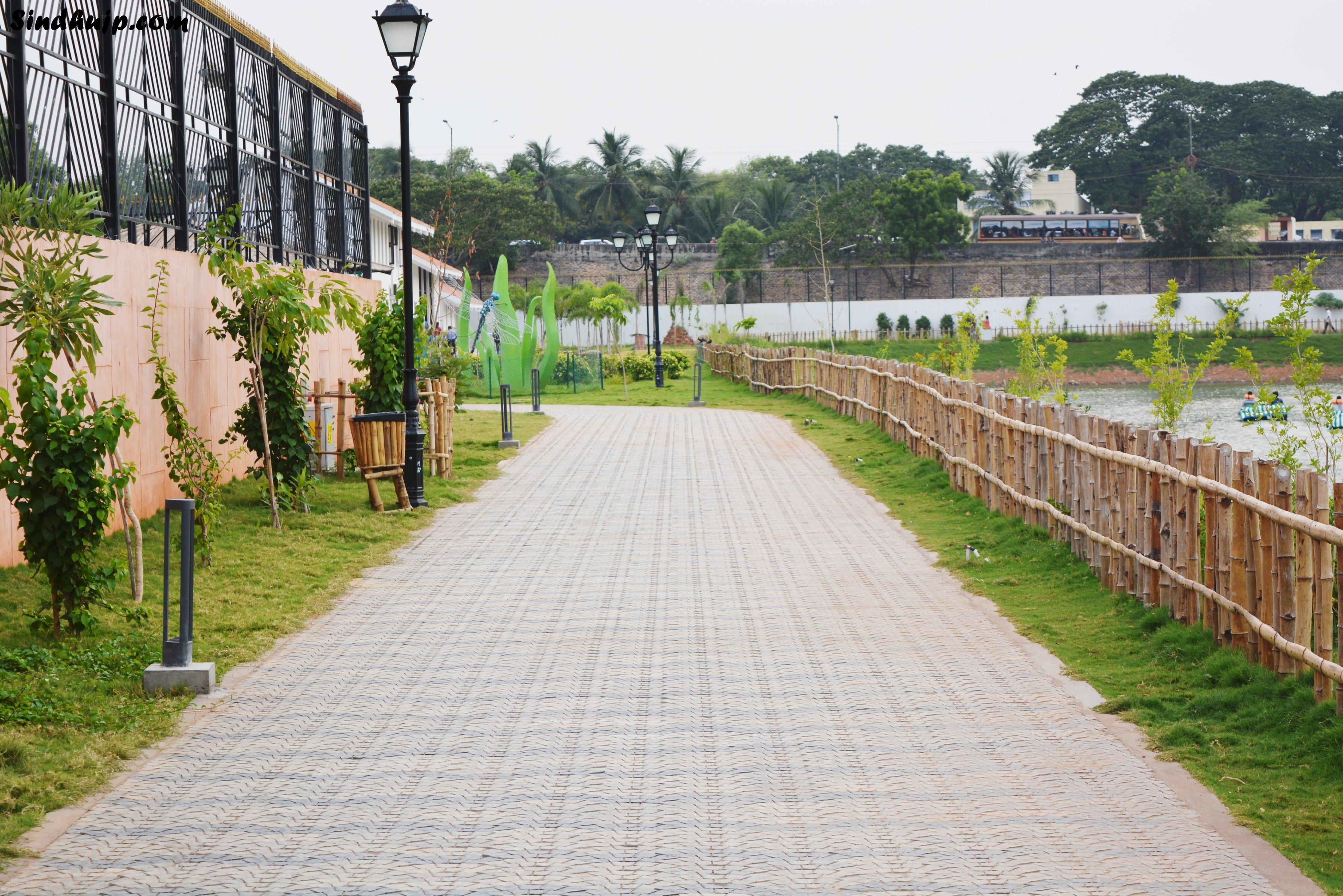 walking track chetpet park