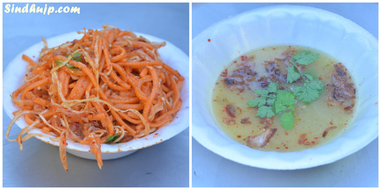 Burma Square omr food street