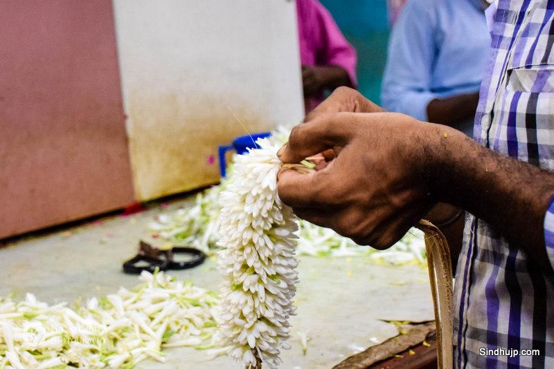 flower vendors chennai