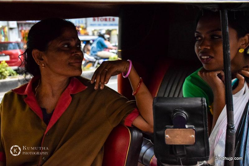 lady auto driver