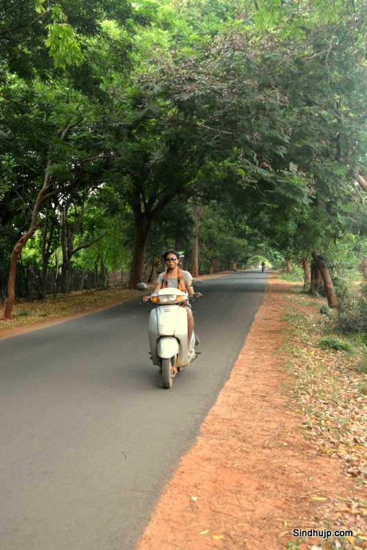 Two wheeler for rent in auroville