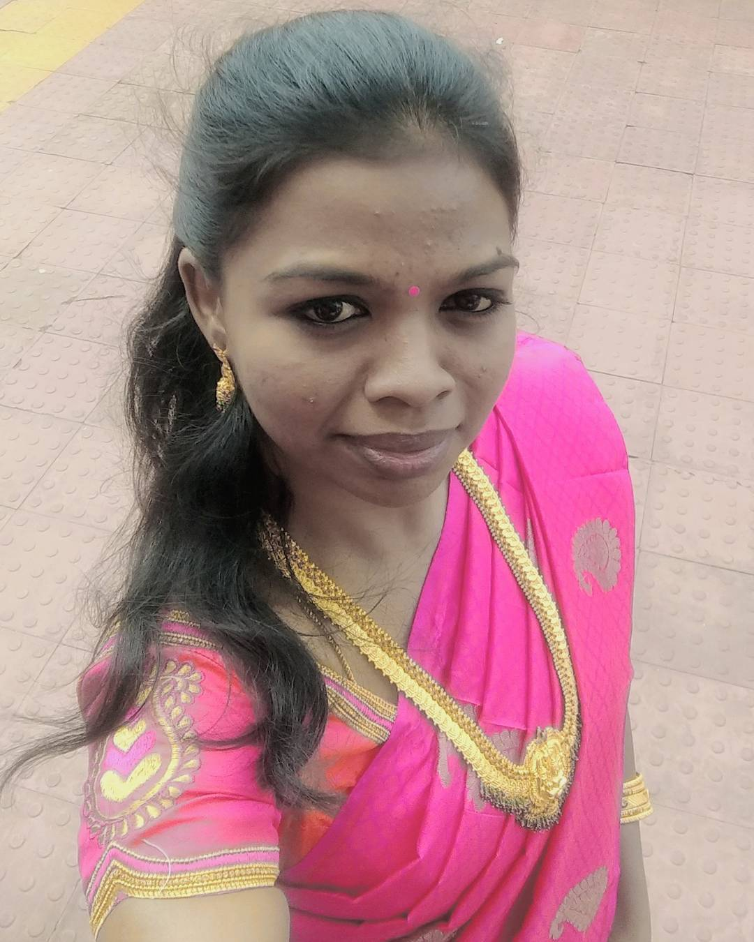 sareefie 2 A beautiful pink pattu saree from tulsisilks Myhellip