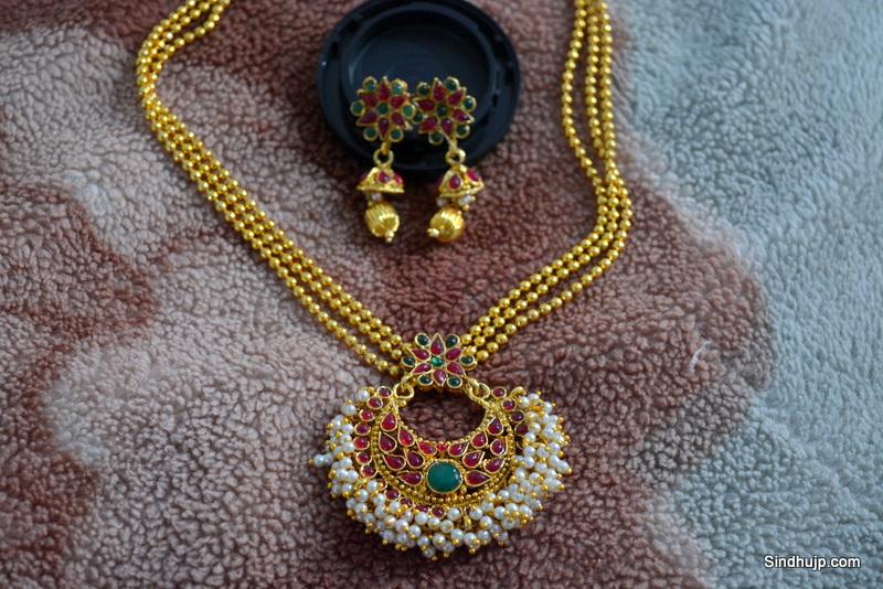 Choker necklace set buy online