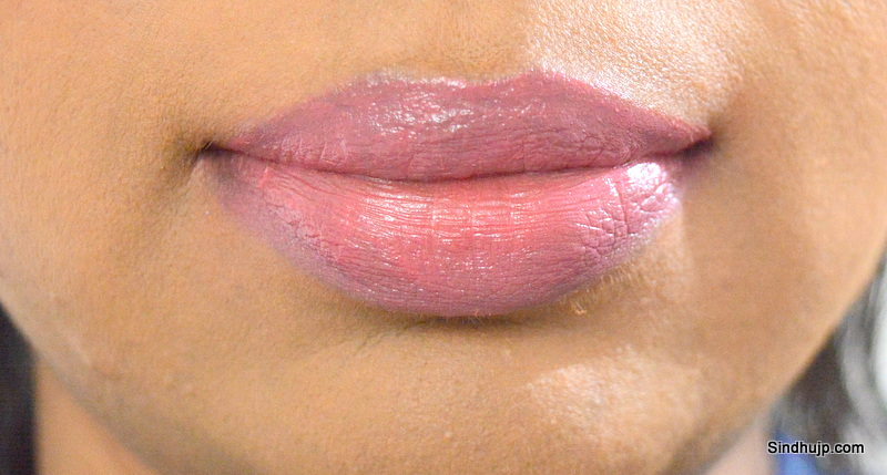 Faces Go Chic Pedal Me Out lip swatch