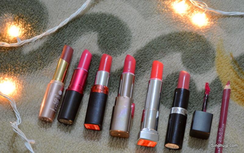 Pink lipsticks for dusky skin tone