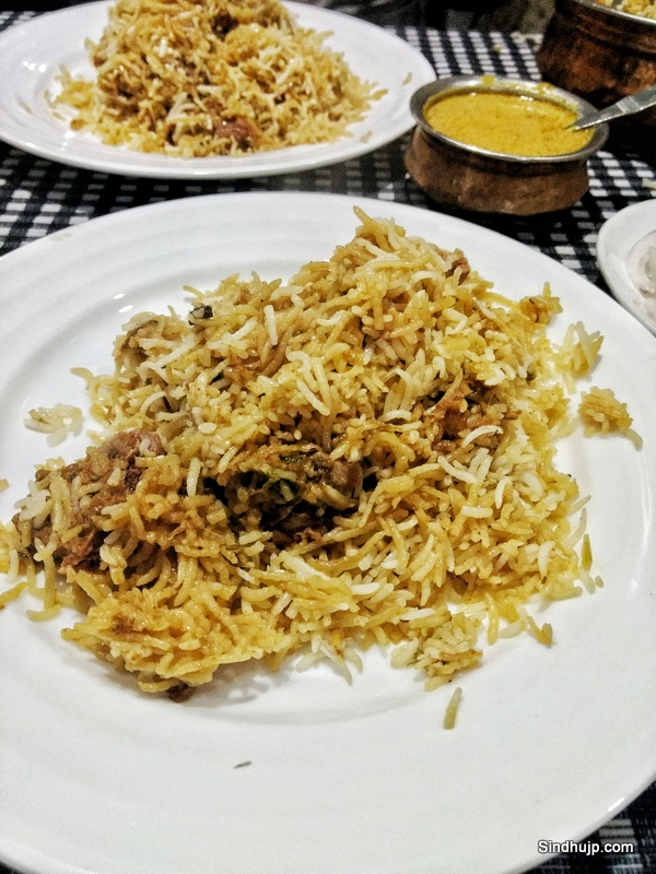 Biriyani at Shadab old city hyderabad