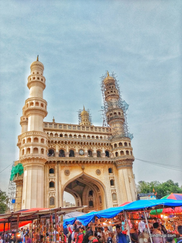 Shopping at Charminar during Ramzan