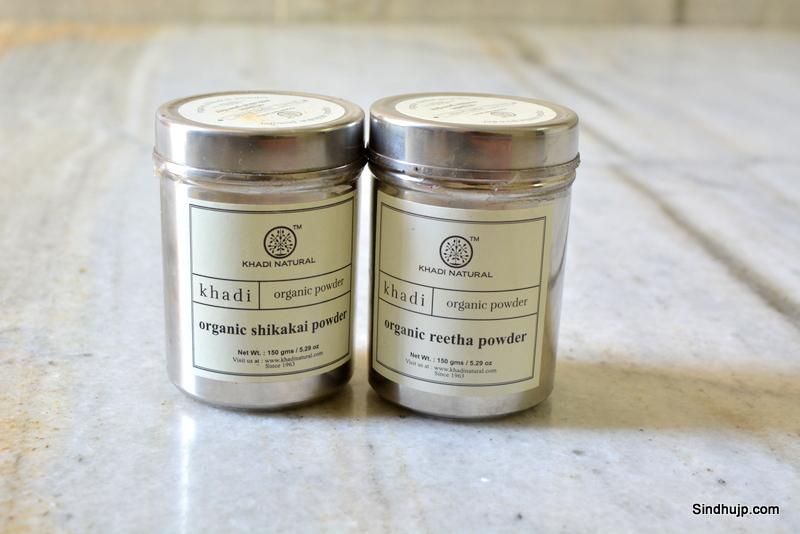 Khadi organic shikakai and reetha powder
