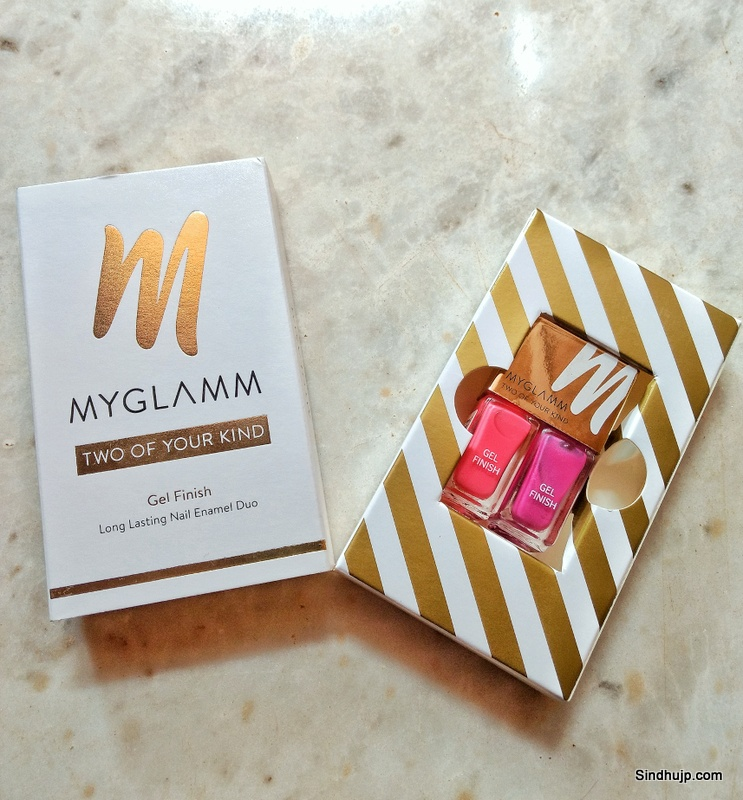 Myglamm TWO OF YOUR KIND - CANDYLAND LONG LASTING GEL FINISH NAIL ENAMEL DUO review